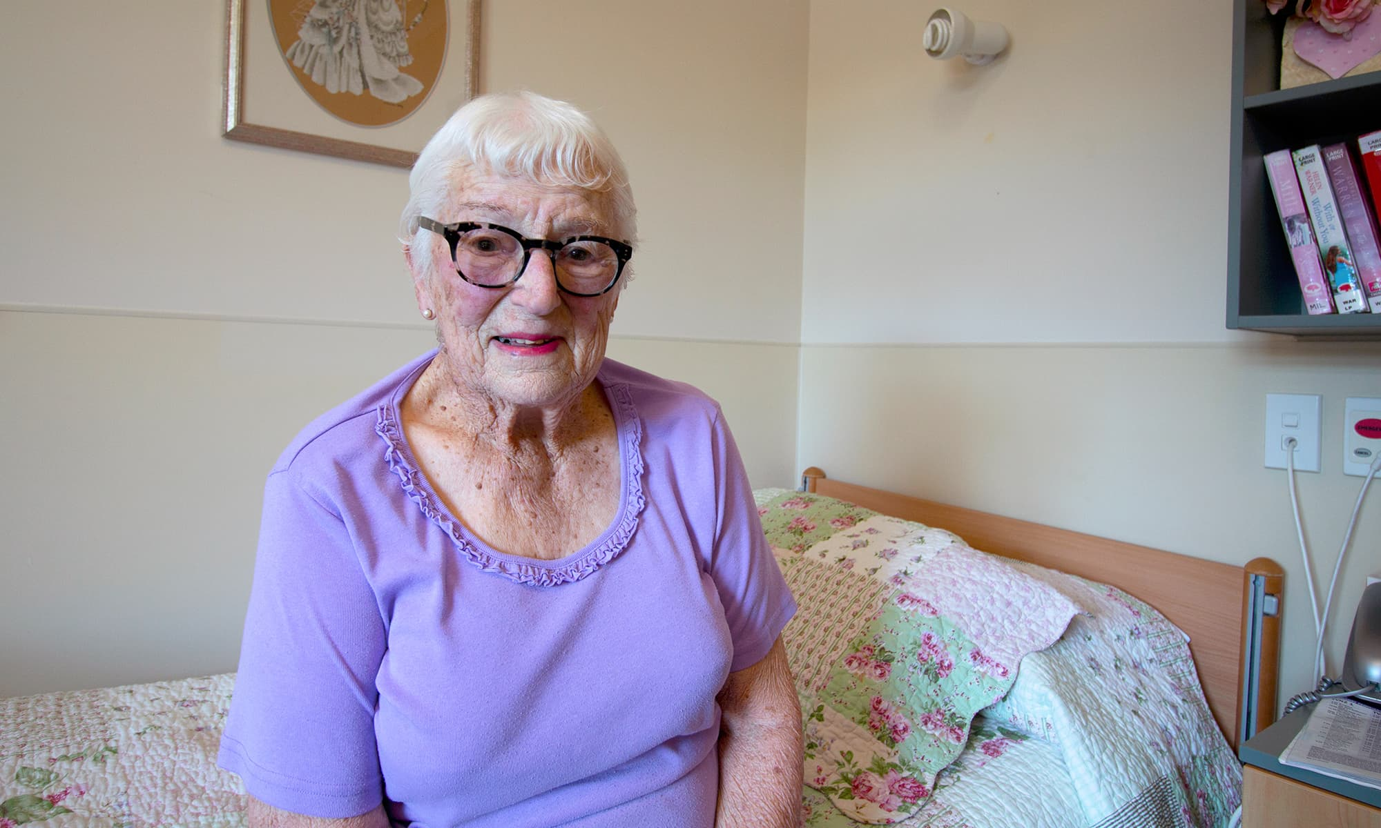 Betty - Care Home Resident